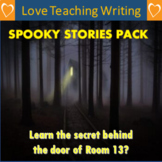 Spooky Stories Literacy Writing Pack