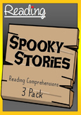 Halloween Reading Comprehensions - 3 Pack - Three Spooky Stories and Questions