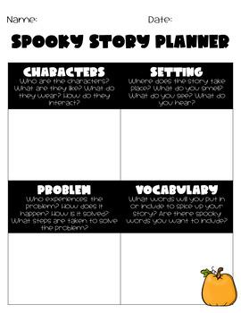 Spooky Story Cards