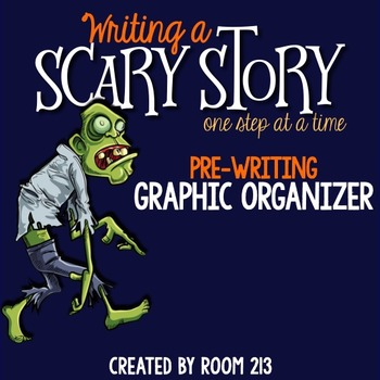 Spooky Story Graphic Organizer {FREE}