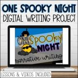Digital Spooky Story Google Slides Narrative Writing Promp