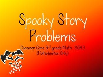Spooky Story Problems
