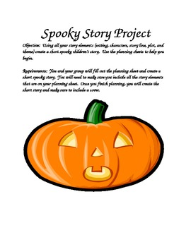 Spooky Story Project