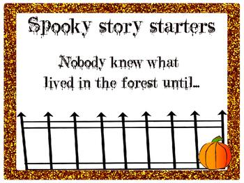 Spooky Story Starters!