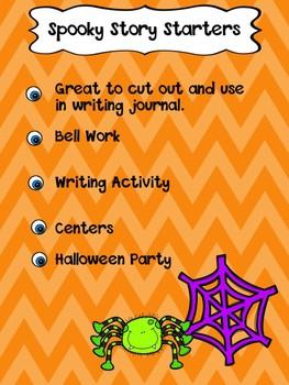 Spooky Story Starters