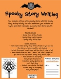 Spooky Story Writing Activity