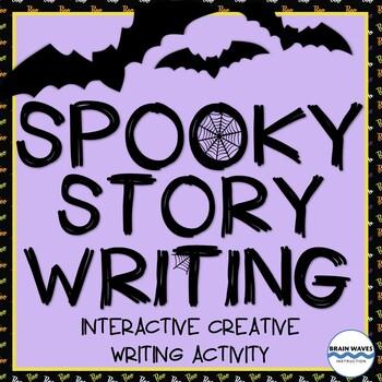 Spooky Story Writing - Halloween Writing Activity
