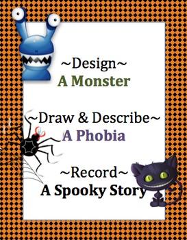 Spooky Writing: Grades K-1, 2-3, 4-5 Using Technology