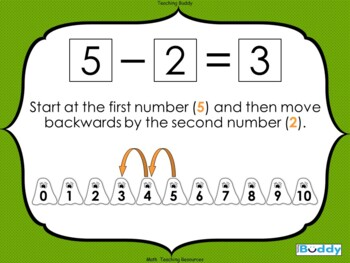 Spooky Subtraction - Halloween Math teaching resource