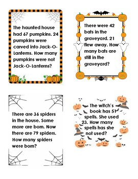 Spooky Subtraction Problems