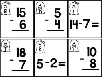 Spooky Subtraction within 20