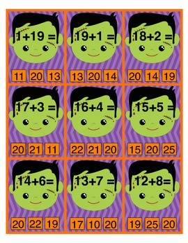 Spooky Sums to 20