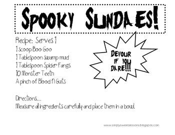 Spooky Sundaes
