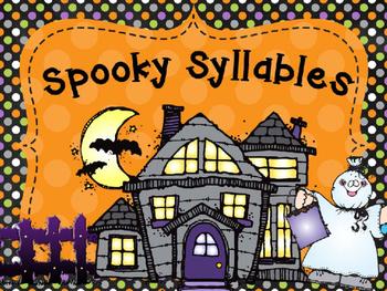 Spooky Syllable Fun