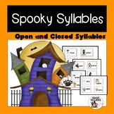Spooky Open and Closed Syllables