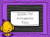 Spooky Th-Sound Articulation Toss