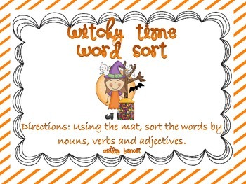 Spooky Time Literacy Centers For Fall Mini Packet