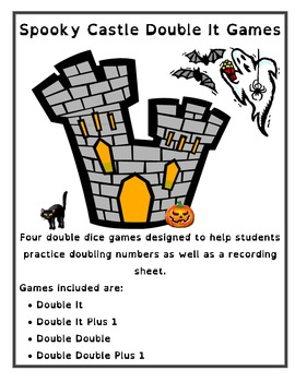 Spooky Tower Double It Math Games