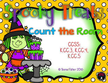 Spooky Treats Halloween Count the Room Counting 1-20