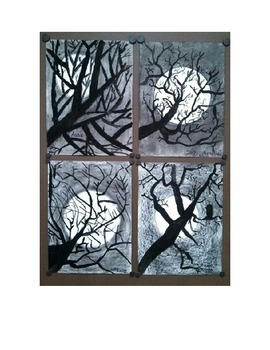 Spooky Tree Silhouettes