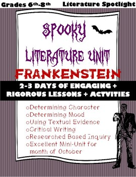 Spooky Unit Literature Spotlight