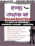Spooky Unit Literature Spotlight