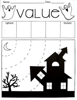 Spooky Value Activity (Extension activity included!)