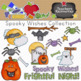 Spooky Wishes Clipart Collection    Commercial Use Allowed