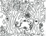 Spooky Woods Halloween Printable