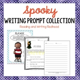 Spooky Writing Prompt Collection-Not Halloween specific- NO PREP