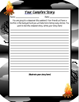 Spooky Writing Prompts
