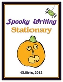 Spooky Writing Stationary for Halloween
