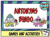 Antonyms Bingo