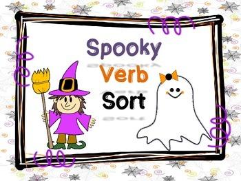Spooky verb sort