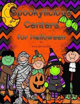 Spookylicious Halloween Centers