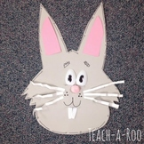 Spoon Bunny Craft Freebie by Teach-A-Roo
