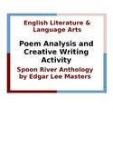 Spoon River Anthology Poem Analysis and Creative Writing Activity