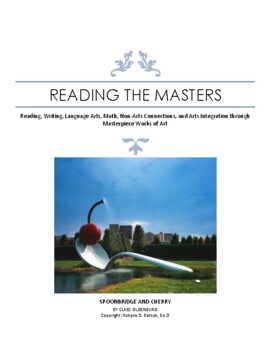 """Intervention & Test Prep with """"Spoonbridge and Cherry"""" by Claes Oldenbur"""