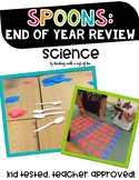 Science STAAR Review Spoons: An End of Year Science Review!