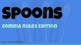 Spoons Game - Comma Rules
