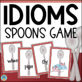 Idioms Game - Spoons - Figurative Language