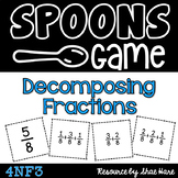 Spoons Game {Math} Decomposing Fractions [4NF3]