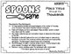 Spoons Game {Math} Place Value through Thousands