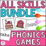 Spoons Game {Reading} All Phonics Skills BUNDLE [Phonics W