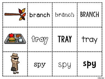 Spoons Game {Reading} Consonant Blends MIXED PRACTICE [Phonics Word Work]