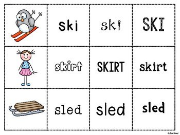 Spoons Game {Reading} Consonant Blends SC, SK, & SL [Phonics Word Work]