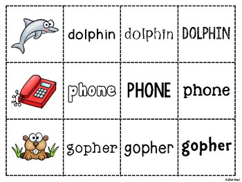 Spoons Game {Reading} Consonant Digraphs WH & PH  [Phonics Word Work]