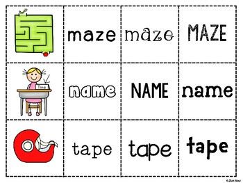 Spoons Game {Reading} Silent e a_e  [Phonics Word Work] Long Vowel A Sneaky e