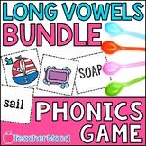 Spoons Game {Reading} Vowel Teams BUNDLE [Phonics Word Work]