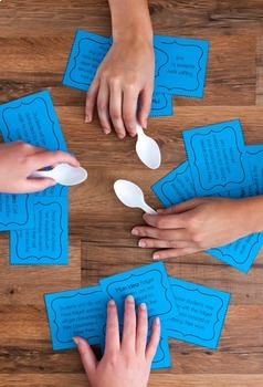 Spoons Games   Literacy Games ONLY   20 Literacy Games